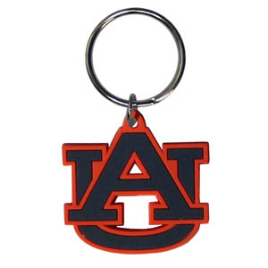 Auburn Tigers Flexi Key Chain - Our College Flexi key chains are made of a rubbery material that is layered cut in the Auburn Tigers primary logo. Thank you for shopping with CrazedOutSports.com