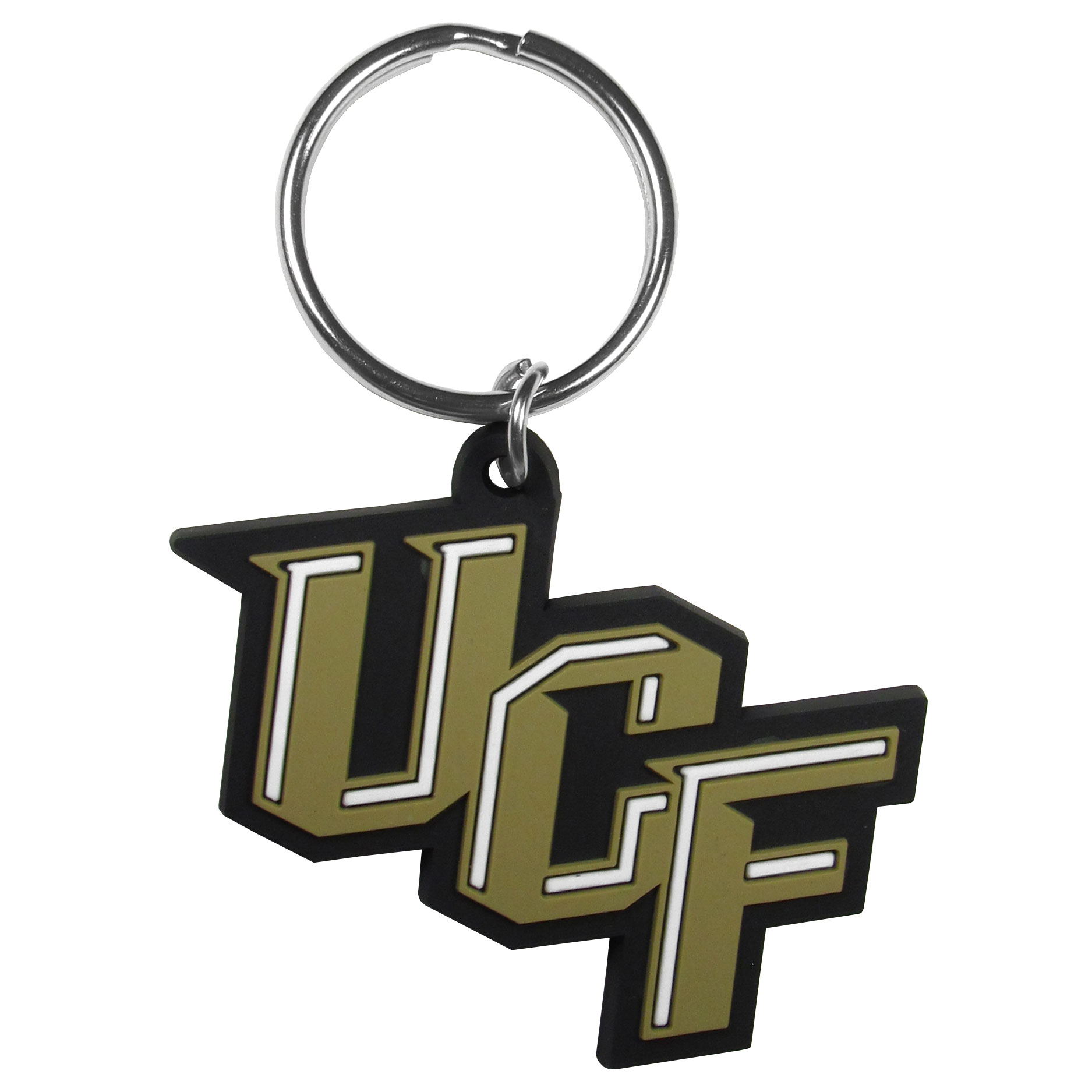 Central Florida Knights Flex Key Chain - Our fun, flexible Central Florida Knights key chains are made of a rubbery material that is layered to create a bright, textured logo.