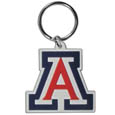 Arizona Wildcats Flex Key Chain - Our College Flexi key chains are made of a rubbery material that is layered cut in the Arizona Wildcats primary logo. Thank you for shopping with CrazedOutSports.com