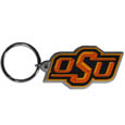 Oklahoma St. Cowboys Flex Key Chain - Our College Flexi key chains are made of a rubbery material that is layered cut in the Oklahoma St. Cowboys primary logo. Thank you for shopping with CrazedOutSports.com