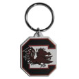 S. Carolina Gamecocks Flex Key Chain - Our College Flexi key chains are made of a rubbery material that is layered cut in the S. Carolina Gamecocks primary logo. Thank you for shopping with CrazedOutSports.com