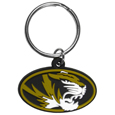 Missouri Tigers Flex Key Chain - Our College Flexi key chains are made of a rubbery material that is layered cut in the Missouri Tigers primary logo. Thank you for shopping with CrazedOutSports.com