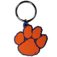 Clemson Tigers Flex Key Chain - Our College Flexi key chains are made of a rubbery material that is layered cut in the Clemson Tigers primary logo. Thank you for shopping with CrazedOutSports.com