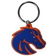 Boise St. Broncos Flex Key Chain - Our College Flexi key chains are made of a rubbery material that is layered cut in the Boise St. Broncos primary logo. Thank you for shopping with CrazedOutSports.com