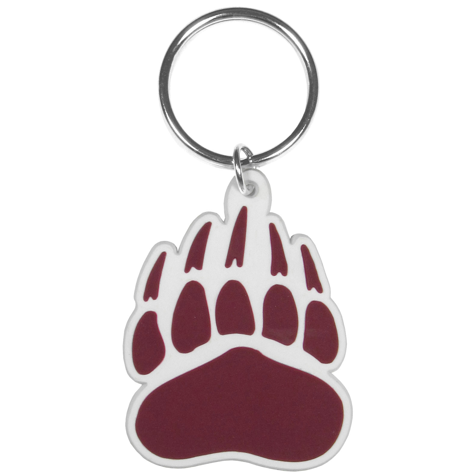 Montana Grizzlies Flex Key Chain - Our fun, flexible Montana Grizzlies key chains are made of a rubbery material that is layered to create a bright, textured logo.