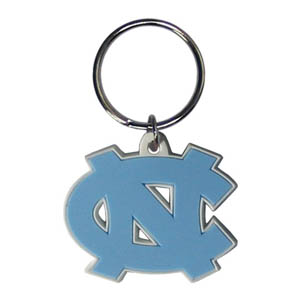 N. Carolina Flexi Key Chain - Our College Flexi key chains are made of a rubbery material that is layered cut in the N. Carolina Tar Heels primary logo. Thank you for shopping with CrazedOutSports.com
