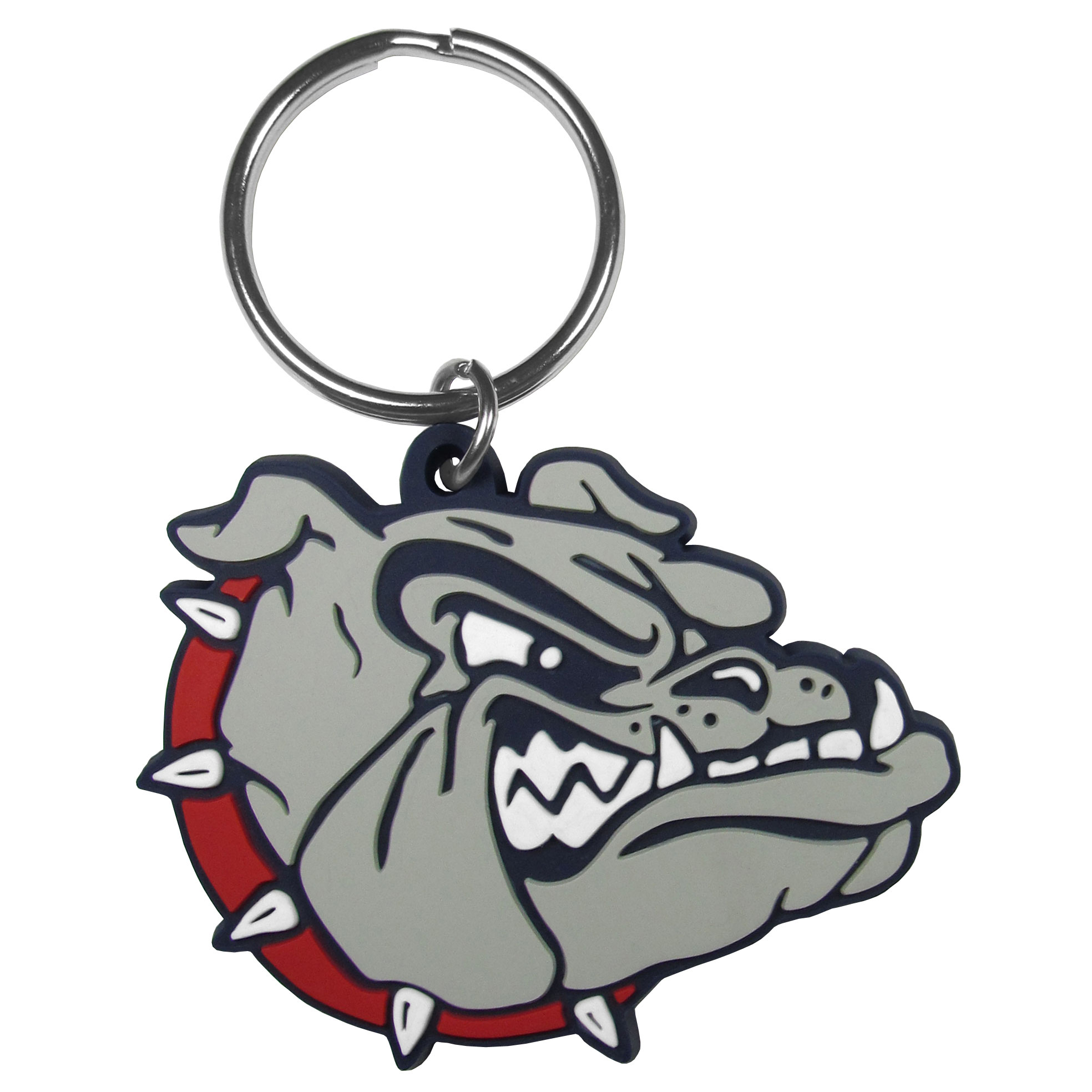 Gonzaga Bulldogs Flex Key Chain - Our fun, flexible Gonzaga Bulldogs key chains are made of a rubbery material that is layered to create a bright, textured logo.