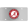 Alabama Crimson Tide Steel License Plate Wall Plaque
