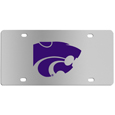 Kansas St. Wildcats Steel License Plate Wall Plaque
