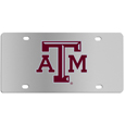 Texas A & M Aggies Steel License Plate Wall Plaque
