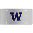 Washington Huskies Steel License Plate Wall Plaque