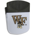 Wake Forest Demon Deacons Chip Clip Magnet - Use this attractive clip magnet to hold memos, photos or appointment cards on the fridge or take it down keep use it to clip bags shut. The magnet features a silk screened Wake Forest Demon Deacons logo. Thank you for shopping with CrazedOutSports.com