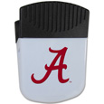 Alabama Crimson Tide Chip Clip Magnet - Use this Alabama Crimson Tide attractive clip magnet to hold memos, photos or appointment cards on the fridge or take it down keep use it to clip bags shut. The magnet features a silk screened Alabama Crimson Tide logo. Thank you for shopping with CrazedOutSports.com