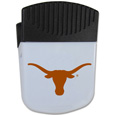 Texas Longhorns Chip Clip Magnet - Use this attractive clip magnet to hold memos, photos or appointment cards on the fridge or take it down keep use it to clip bags shut. The magnet features a silk screened Texas Longhorns logo. Thank you for shopping with CrazedOutSports.com