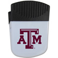 Texas A and M Aggies Chip Clip Magnet - Use this attractive clip magnet to hold memos, photos or appointment cards on the fridge or take it down keep use it to clip bags shut. The magnet features a silk screened Texas A & M Aggies logo. Thank you for shopping with CrazedOutSports.com