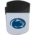 Penn St. Nittany Lions Chip Clip Magnet - Use this attractive clip magnet to hold memos, photos or appointment cards on the fridge or take it down keep use it to clip bags shut. The magnet features a silk screened Penn St. Nittany Lions logo. Thank you for shopping with CrazedOutSports.com