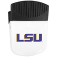 LSU Tigers Chip Clip Magnet - Use this attractive LSU Tigers chip clip magnet to hold memos, photos or appointment cards on the fridge or take it down keep use it to clip bags shut. The magnet features a silk screened LSU Tigers logo. Thank you for shopping with CrazedOutSports.com