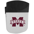Mississippi St. Bulldogs Chip Clip Magnet - Use this attractive clip magnet to hold memos, photos or appointment cards on the fridge or take it down keep use it to clip bags shut. The magnet features a silk screened Mississippi St. Bulldogs logo. Thank you for shopping with CrazedOutSports.com