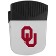Oklahoma Sooners Chip Clip Magnet - Use this attractive clip magnet to hold memos, photos or appointment cards on the fridge or take it down keep use it to clip bags shut. The magnet features a silk screened Oklahoma Sooners logo. Thank you for shopping with CrazedOutSports.com
