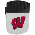 Wisconsin Badgers Chip Clip Magnet - Use this attractive clip magnet to hold memos, photos or appointment cards on the fridge or take it down keep use it to clip bags shut. The magnet features a silk screened Wisconsin Badgers logo. Thank you for shopping with CrazedOutSports.com