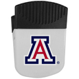 Arizona Wildcats Chip Clip Magnet - Use this attractive clip magnet to hold memos, photos or appointment cards on the fridge or take it down keep use it to clip bags shut. The magnet features a silk screened Arizona Wildcats logo. Thank you for shopping with CrazedOutSports.com