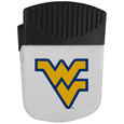 W. Virginia Mountaineers Chip Clip Magnet - Use this attractive clip magnet to hold memos, photos or appointment cards on the fridge or take it down keep use it to clip bags shut. The magnet features a silk screened W. Virginia Mountaineers logo. Thank you for shopping with CrazedOutSports.com