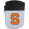 Syracuse Orange Chip Clip Magnet - Use this attractive clip magnet to hold memos, photos or appointment cards on the fridge or take it down keep use it to clip bags shut. The magnet features a silk screened Syracuse Orange logo. Thank you for shopping with CrazedOutSports.com