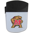 Maryland Terrapins Chip Clip Magnet - Use this attractive Maryland Terrapins Chip Clip Magnet to hold memos, photos or appointment cards on the fridge or take it down keep use it to clip bags shut. The Maryland Terrapins Chip Clip Magnet features a silk screened Maryland Terrapins logo. Thank you for shopping with CrazedOutSports.com