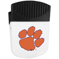 Clemson Tigers Chip Clip Magnet - Use this attractive clip magnet to hold memos, photos or appointment cards on the fridge or take it down keep use it to clip bags shut. The magnet features a silk screened Clemson Tigers logo. Thank you for shopping with CrazedOutSports.com