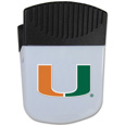 Miami Hurricanes Chip Clip Magnet - Use this attractive Miami Hurricanes Chip Clip Magnet to hold memos, photos or appointment cards on the fridge or take it down keep use it to clip bags shut. The Miami Hurricanes Chip Clip Magnet features a silk screened Miami Hurricanes logo. Thank you for shopping with CrazedOutSports.com