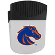 Boise St. Broncos Chip Clip Magnet - Use this attractive clip magnet to hold memos, photos or appointment cards on the fridge or take it down keep use it to clip bags shut. The magnet features a silk screened Boise St. Broncos logo. Thank you for shopping with CrazedOutSports.com