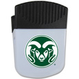Colorado St. Rams Chip Clip Magnet - Use this attractive clip magnet to hold memos, photos or appointment cards on the fridge or take it down keep use it to clip bags shut. The magnet features a silk screened Colorado St. Rams logo. Thank you for shopping with CrazedOutSports.com