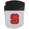 N. Carolina St. Wolfpack Chip Clip Magnet - Use this attractive clip magnet to hold memos, photos or appointment cards on the fridge or take it down keep use it to clip bags shut. The magnet features a silk screened N. Carolina St. Wolfpack logo. Thank you for shopping with CrazedOutSports.com