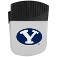 BYU Cougars Chip Clip Magnet - Use this attractive clip magnet to hold memos, photos or appointment cards on the fridge or take it down keep use it to clip bags shut. The magnet features a silk screened BYU Cougars logo. Thank you for shopping with CrazedOutSports.com