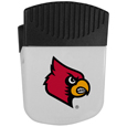 Louisville Cardinals Chip Clip Magnet - Use this attractive Louisville Cardinals clip magnet to hold memos, photos or appointment cards on the fridge or take it down keep use it to clip bags shut. The Louisville Cardinals Chip Clip Magnet features a silk screened Louisville Cardinals logo. Thank you for shopping with CrazedOutSports.com