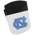 N. Carolina Tar Heels Chip Clip Magnet - Use this attractive clip magnet to hold memos, photos or appointment cards on the fridge or take it down keep use it to clip bags shut. The magnet features a silk screened N. Carolina Tar Heels logo. Thank you for shopping with CrazedOutSports.com