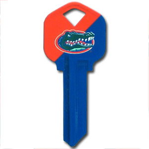 Kwikset Key - Florida Gators - College house keys are a great way to show Florida Gators school spirit while keeping keys organized. House keys can be cut to fit your home or office Kwikset keys (reference pre-fix CSK for Schlage keys).  Thank you for shopping with CrazedOutSports.com