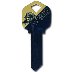 Kwikset Key - Pittsburgh Panthers - College house keys are a great way to show school spirit while keeping keys organized. Keys can be cut to fit your home or office Kwikset keys (reference pre-fix CSK for Schlage keys).  Thank you for shopping with CrazedOutSports.com