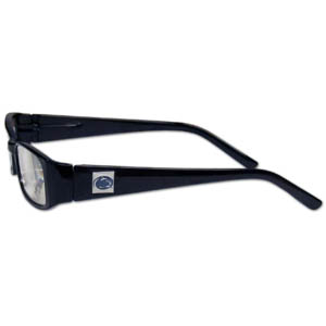 "PENN St. Nittany Lions Reading Glasses - These College PENN St. Nittany Lions Reading Glasses are 5.25"" wide with 5.5"" arms with PENN St. Nittany Lions colored frames featuring the PENN St. Nittany Lions logo on each arm. Thank you for shopping with CrazedOutSports.com"