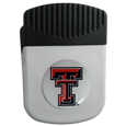 Texas Tech Raiders Chip Clip Magnet - Use this attractive college clip magnet to hold memos, photos or appointment cards on the fridge or take it down keep use it to clip bags shut. The magnet features a domed Texas Tech Raiders logo. Thank you for shopping with CrazedOutSports.com