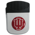 Indiana Hoosiers Chip Clip Magnet - Use this attractive Indiana Hoosiers college clip magnet to hold memos, photos or appointment cards on the fridge or take it down keep use it to clip bags shut. The magnet features a domed Indiana Hoosiers logo. Thank you for shopping with CrazedOutSports.com