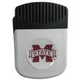 Mississippi St. Bulldogs Chip Clip Magnet - Use this attractive college clip magnet to hold memos, photos or appointment cards on the fridge or take it down keep use it to clip bags shut. The magnet features a domed Mississippi St. Bulldogs logo. Thank you for shopping with CrazedOutSports.com