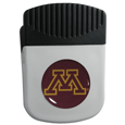 Minnesota Golden Gophers Chip Clip Magnet - Use this attractive college Minnesota Golden Gophers Chip Clip Magnet to hold memos, photos or appointment cards on the fridge or take it down keep use it to clip bags shut. The Minnesota Golden Gophers Chip Clip Magnet features a domed Minnesota Golden Gophers logo. Thank you for shopping with CrazedOutSports.com