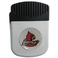 Louisville Cardinals Chip Clip Magnet - Use this attractive Louisville Cardinals Chip Clip Magnet to hold memos, photos or appointment cards on the fridge or take it down keep use it to clip bags shut. The Louisville Cardinals Chip Clip Magnet features a domed Louisville Cardinals logo.