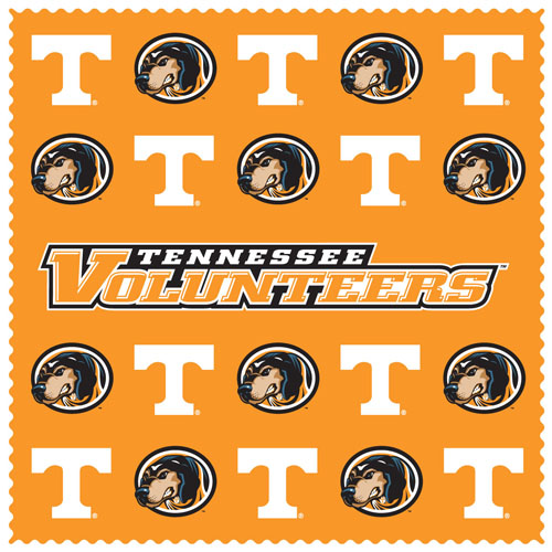 "Tennessee Sunglass Microfiber Cleaning Cloth - Our collegiate sunglass cleaning cloth is a 6.75"" square microfiber cloth that is perfect for keeping your sunglass free of dirt, oil, residue and smudges. The set includes 2 clothes with team logo pattern.  Thank you for shopping with CrazedOutSports.com"