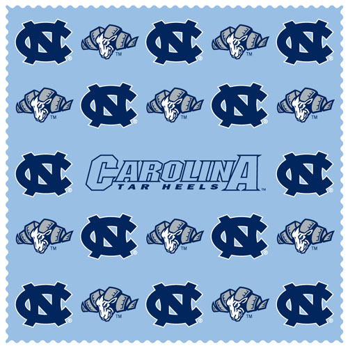 Microfiber Cleaning Cloth Pattern: N. Carolina Tar Heels