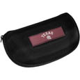 Texas A and M Aggies Hard Shell Glasses Case - Our Texas A & M Aggies hard sunglass cases are a great way to protect your sunglasses. The hard molded shell protects the glasses from being crushed or damaged from dropping. The zippered closure prevents accidental opening and the soft lining protects the lenses from scratches. Thank you for shopping with CrazedOutSports.com