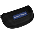 Kentucky Wildcats Hard Shell Glasses Case - Our Kentucky Wildcats hard sunglass cases are a great way to protect your sunglasses. The hard molded shell protects the glasses from being crushed or damaged from dropping. The zippered closure prevents accidental opening and the soft lining protects the lenses from scratches. Thank you for shopping with CrazedOutSports.com