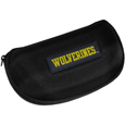 Michigan Wolverines Hard Shell Glasses Case - This Michigan Wolverines hard sunglass case is a great way to protect your sunglasses. The Michigan Wolverines Hard Shell Glasses Case hard molded shell protects the glasses from being crushed or damaged from dropping. The Michigan Wolverines Hard Shell Glasses Case zippered closure prevents accidental opening and the soft lining protects the lenses from scratches. Thank you for shopping with CrazedOutSports.com