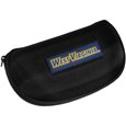 W. Virginia Mountaineers Hard Shell Glasses Case - Our W. Virginia Mountaineers hard sunglass cases are a great way to protect your sunglasses. The hard molded shell protects the glasses from being crushed or damaged from dropping. The zippered closure prevents accidental opening and the soft lining protects the lenses from scratches. Thank you for shopping with CrazedOutSports.com